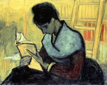 Vincent-van-Gogh-La-lectrice-de-roman-1888